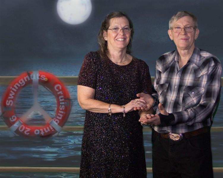 Peggy Hall & Tom Banfil