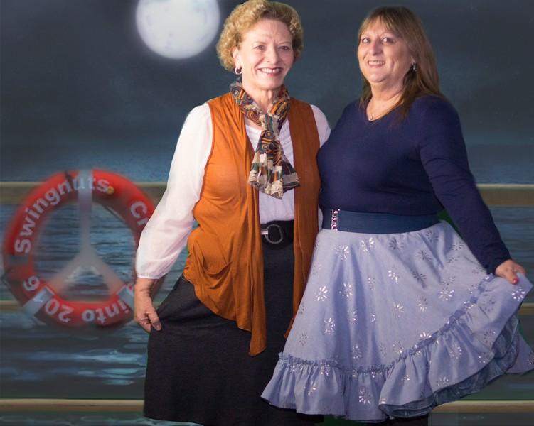 Sylvia Betts & Teri Daniels (sisters)