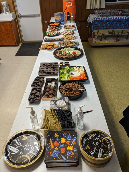 "This was just a ""sample"" of the finger food offering!"