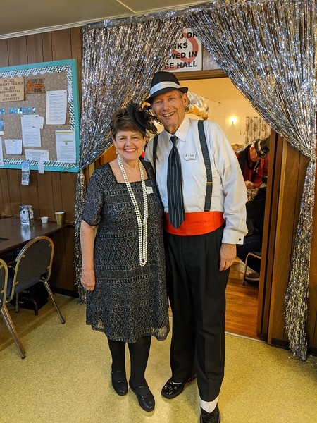 A gangster and his gal (Lane & Gail Johnston)
