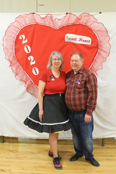 """Vivian Milner and Ed White from """"A-Blast"""" club."""