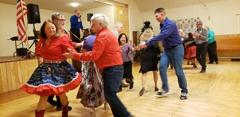 Jan. 11, 2020; square dancing is fun!
