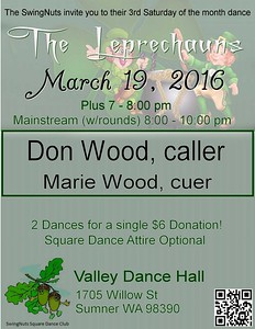 """March 16, 2016 - """"The Lerechauns"""" dance"""