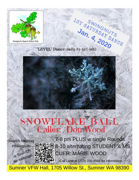 """Snowflake Ball"" - January 2020"