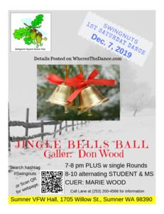 """""""Jingle Bells Ball"""" - December 2019"""