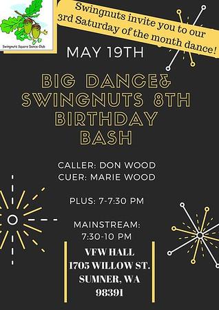 """""""Birthday Bash"""" (and BIG DANCE) - May 2018"""