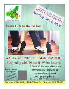 """""""Phase II Waltz"""" lessons started - January 2020"""