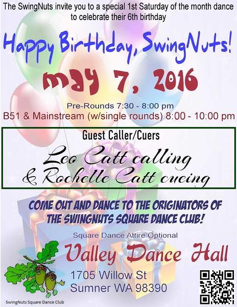 "May 7, 2016 - ""Birthday Dance"""