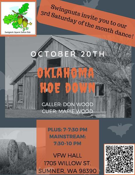 """Oklahoma Hoe Down"" - October 2018"