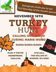 """Turkey Hunt"" - November 2017"
