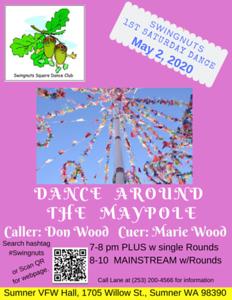 """Dance Around the Maypole"" - May"