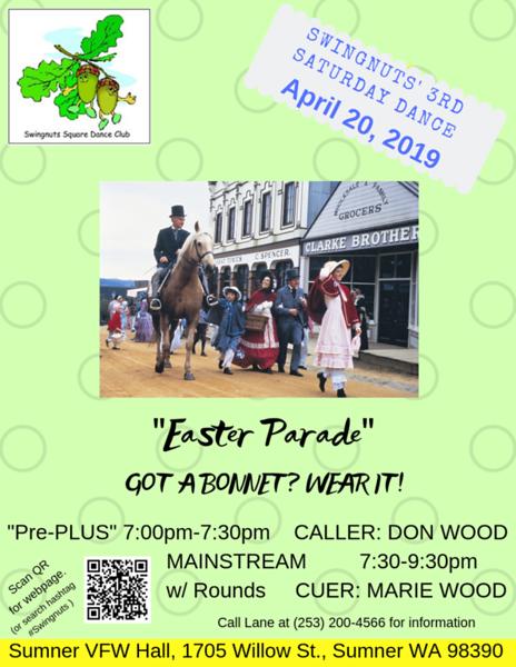 """Easter Parade"" - April 2019"
