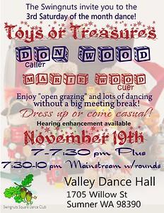 "'Toys or Treasures"" - November 2016"