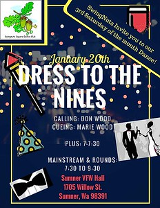 """Dress to the Nines"" - January 2018"