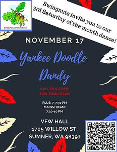 """Yankee Doodle Dandy"" - November 2018"