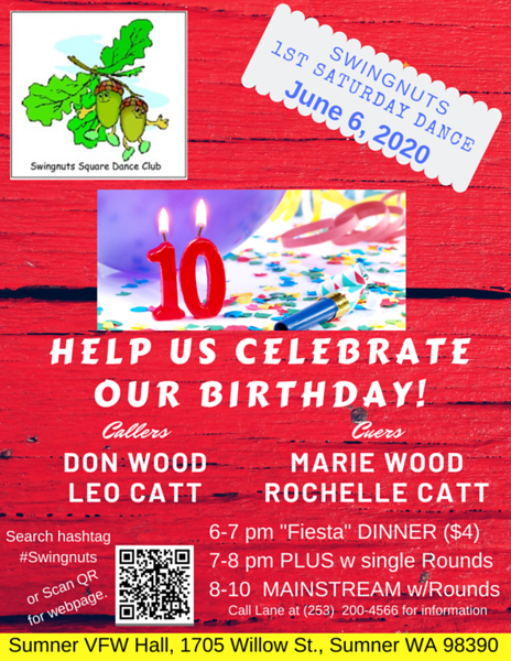 """10th Birthday"" dance - May"
