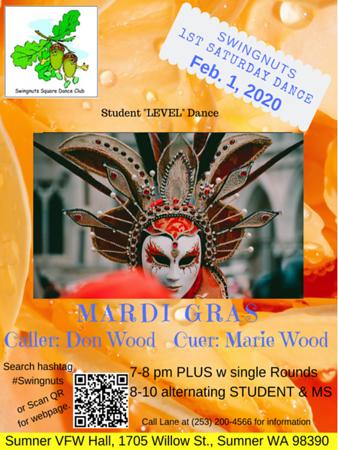 """Mardi Gras"" - February 2020"