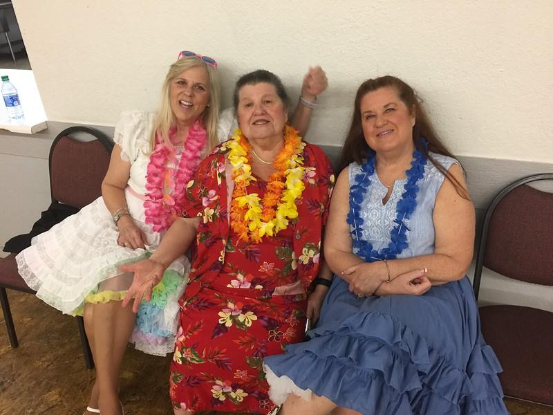 Kim Beach, Patsy Harris, Mary T
