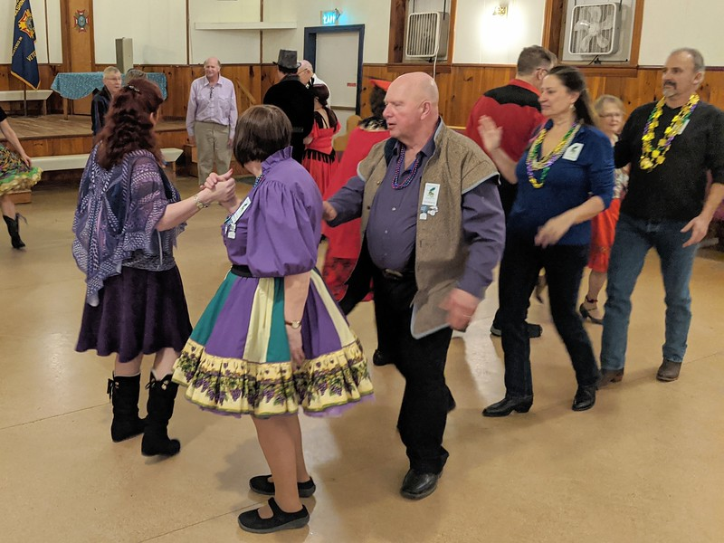 Promoting Square Dancing Fun