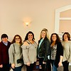 McCarthy's PTO glamour squad, from left, Patti O'Brien, Theresa Evans, Georgia Fredericks, co-Chairs Amy Hart and Liz Goguen, Deb Smith, Deb LeBlanc and Betsy Hebert, all of Chelmsford