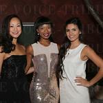 Natalie Nguyen, Taylor Cobb and Isabel Jadick.