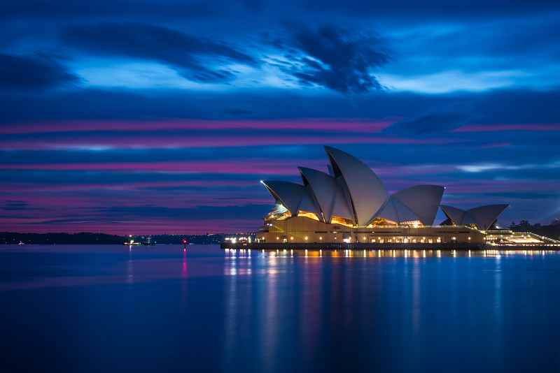 Blue Hour at the Opera