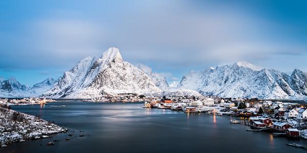 Panoramic Lofoten Norway