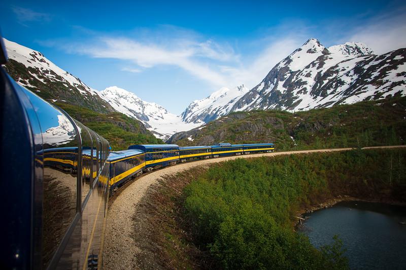 Riding the Alaskan Railroad!