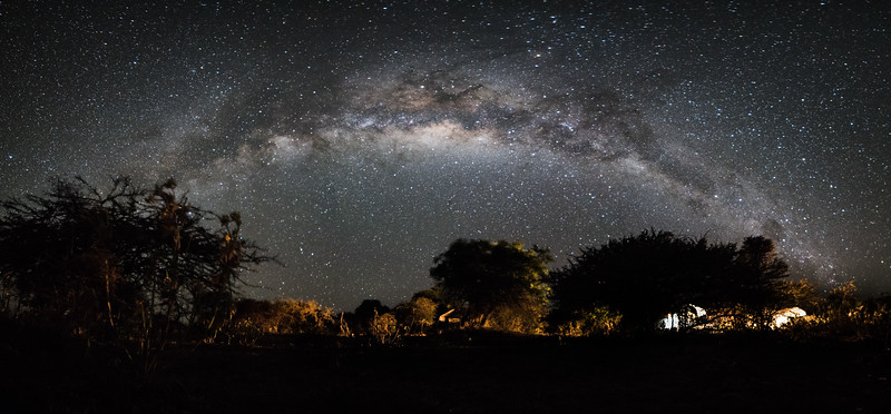 Milky Way Over Camp - www.rajguptaphotography.com