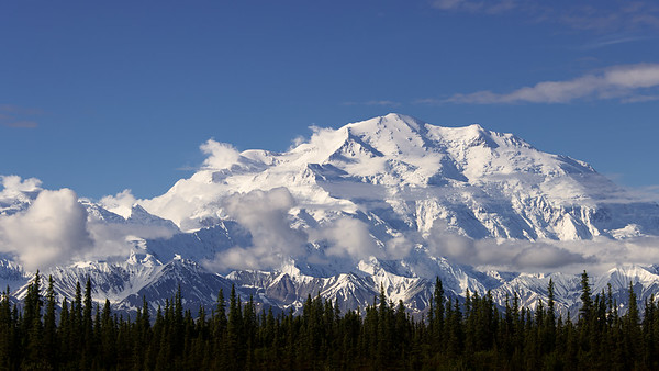Denali towering above all else