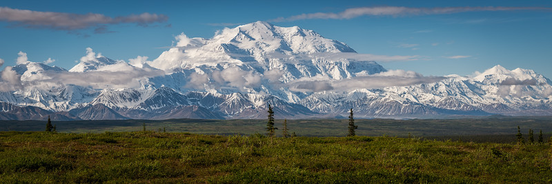 In its full majesty, Mount Denali