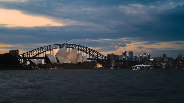 Bridge framing the Opera House. www.rajguptaphotography.com