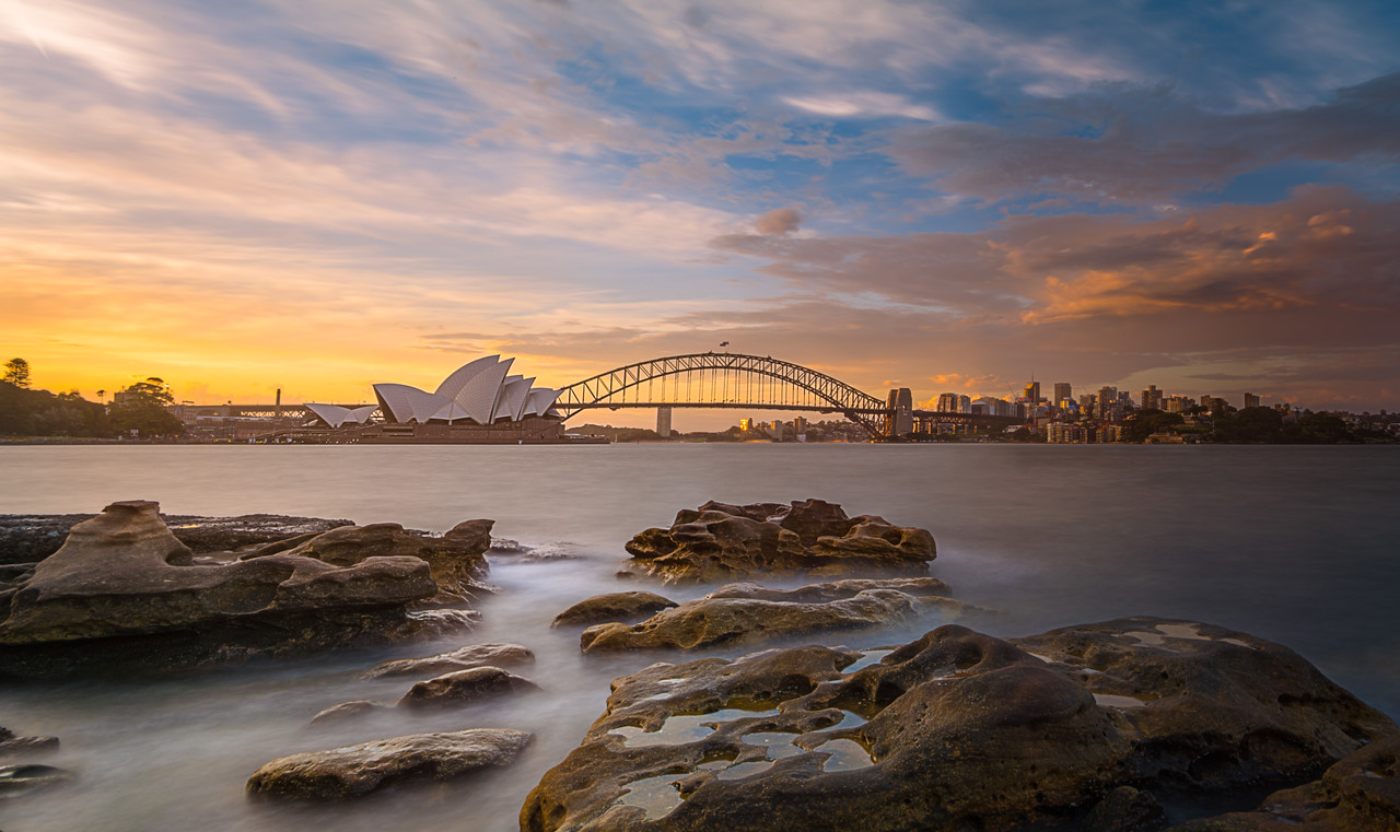 Sydney Harbour Sunset