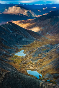 """""""Twin Lakes from the Sky"""" - www.rajguptaphotography.com"""