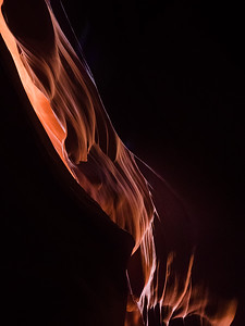 Flames in the Canyon