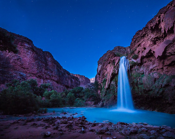 Night Falls at Havasupai