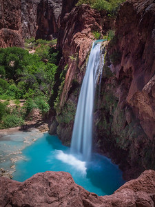 Havasu Falls in the morning