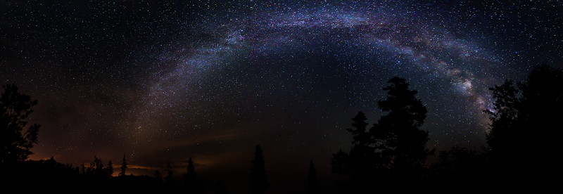 Milky Way over Campobello Island