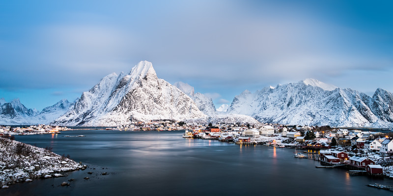 Panoramic Lofoten Norway