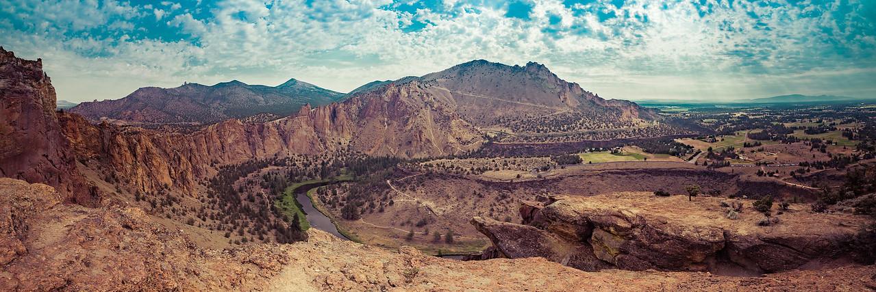Smith Rock State Park -  Misery Ridge
