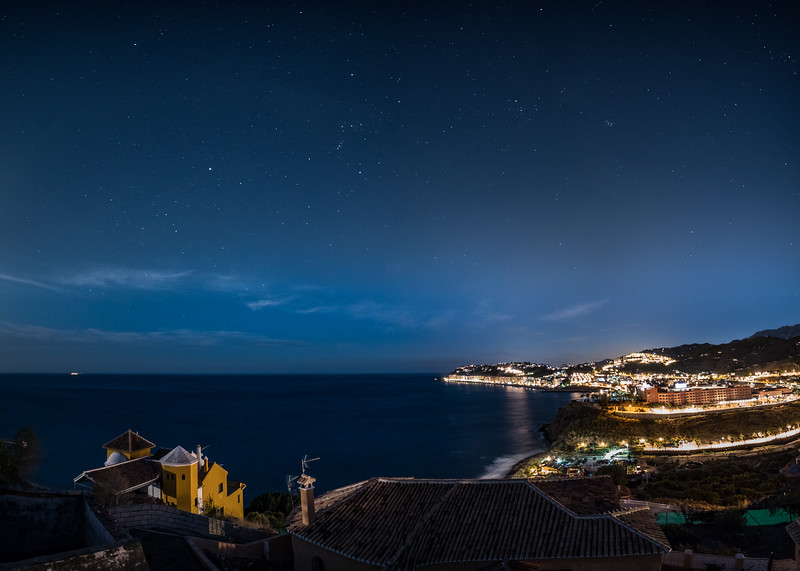 Starry spain night