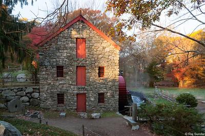 Grist mill @ Sudbury, MA