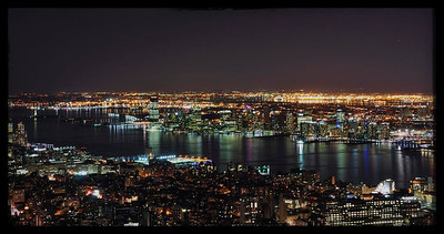 View from Empire State Building Top