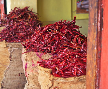 Red Chillies, Tripolia Bazaar, Jaipur