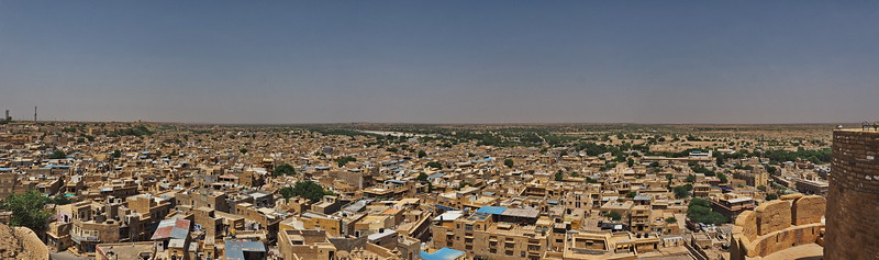 Jaisalmer, from the fort.
