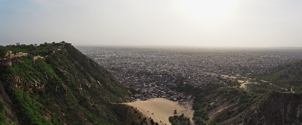 Jaipur as seen from Nahargarh Fort