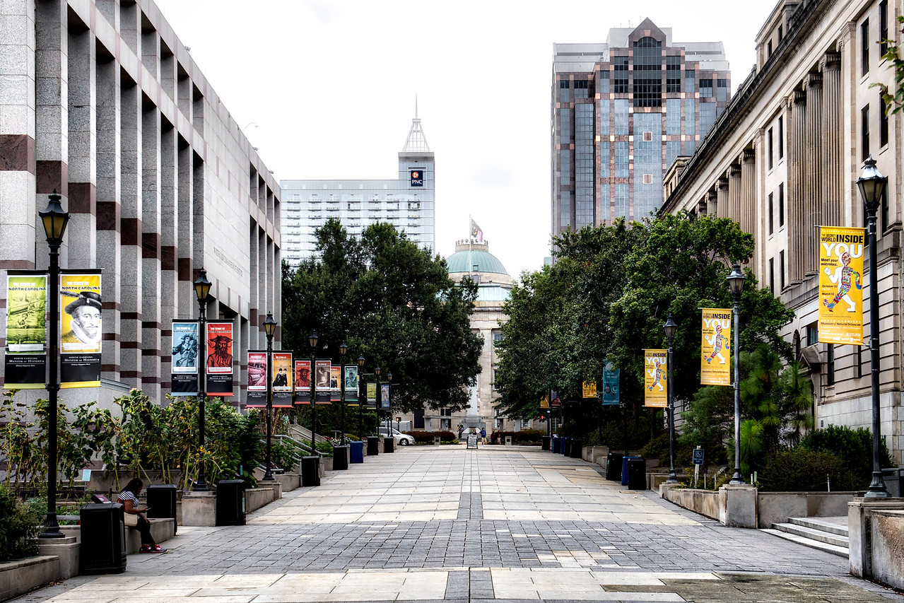 Raleigh_NCMuseumSquare_toCapitolBldg_9252016