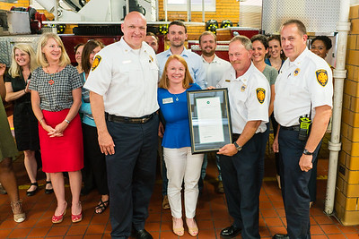 Raleigh Fire Fighters Lunch - June 2017