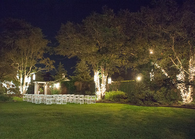 Leaning Tree WEdding Venue at night