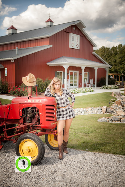 Raleigh Photographer and Model Ashley Zung at Wedding Venue Carrllock Farms llc